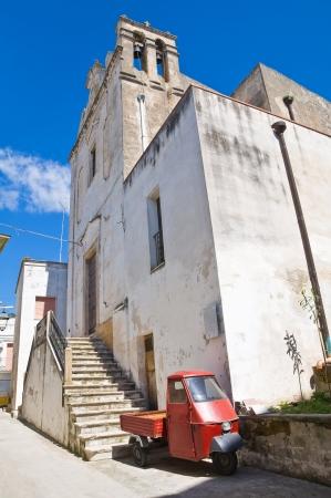 Church of St. Madonna dell'Aiuto. Castellaneta. Puglia. Italy. Stock Photo - 19159640