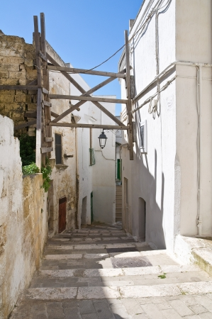 Alleyway. Castellaneta. Puglia. Italy. Stock Photo - 19159656