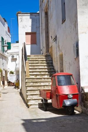Alleyway. Castellaneta. Puglia. Italy. Stock Photo - 19159663