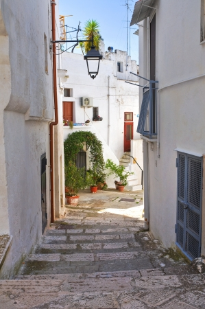Alleyway. Castellaneta. Puglia. Italy. photo