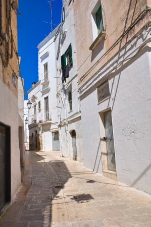 Alleyway. Castellaneta. Puglia. Italy. photo