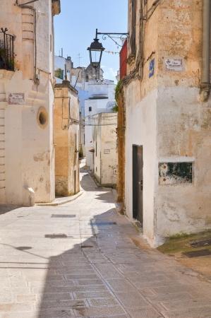 Alleyway. Castellaneta. Puglia. Italy. Stock Photo - 19159657