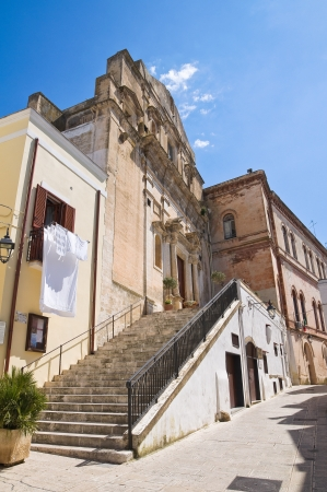 Church of St  Domenico  Castellaneta  Puglia  Italy Stock Photo - 19159744