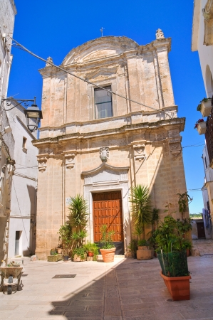 Church of St  Giuseppe in Castellaneta, Puglia, Italy  photo