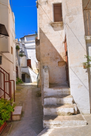 Alleyway  in Castellaneta, Puglia, Italy  Stock Photo - 19155986