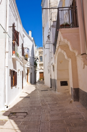 Alleyway  Castellaneta  Puglia  Italy   photo