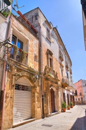 Alleyway in Castellaneta, Puglia, Italy  photo