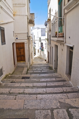 Alleyway in Castellaneta, Puglia, Italy  Stock Photo - 19156724