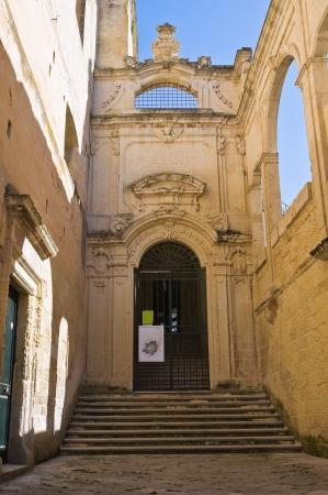 anna: Conservatory of St. Anna. Lecce. Puglia. Italy.