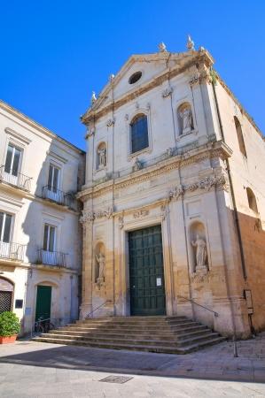 anna: Church of St. Anna. Lecce. Puglia. Italy. Stock Photo