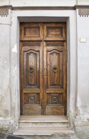 Wooden door  Tursi  Basilicata  Italy Stock Photo - 19376335
