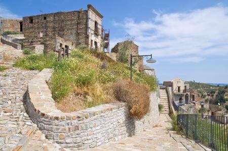Panoramic view of Tursi. Basilicata. Italy. photo