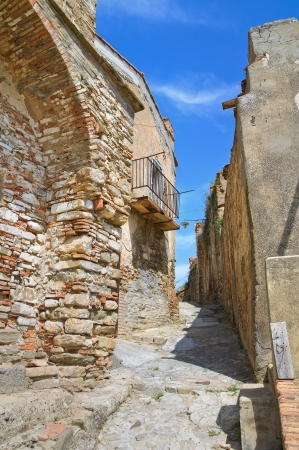 Alleyway  Tursi  Basilicata  Italy  photo