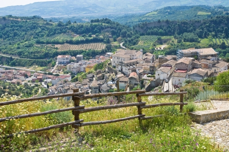 Panoramic view of Tursi  Basilicata  Italy  photo