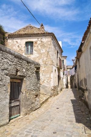 basilicata: Alleyway  Tursi  Basilicata  Italy