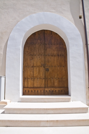 Wooden door  Tursi  Basilicata  Italy  photo