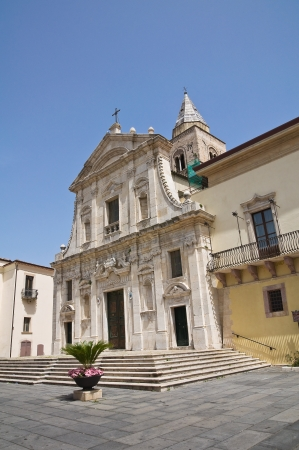 Cathedral of St. Maria Assunta. Melfi. Basilicata. Italy. photo