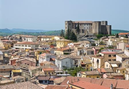Panoramic view of Melfi. Basilicata. Italy. photo