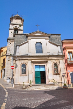 carmine: Church of St. Carmine. Melfi. Basilicata. Italy.