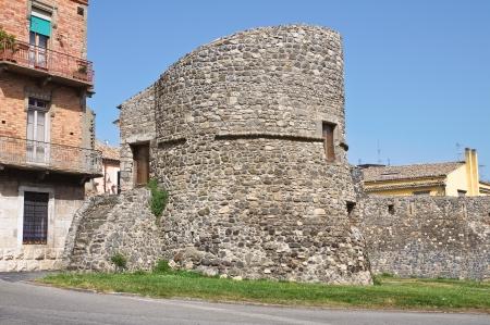 basilicata: Porta Venosina. Melfi. Basilicata. Italy.  Stock Photo