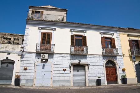 basilicata: Alleyway  Melfi  Basilicata  Italy