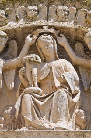angeli: Church of St. Maria degli Angeli. Lecce. Puglia. Italy.