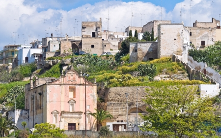 mottola: Panoramic view of Mottola  Puglia  Italy