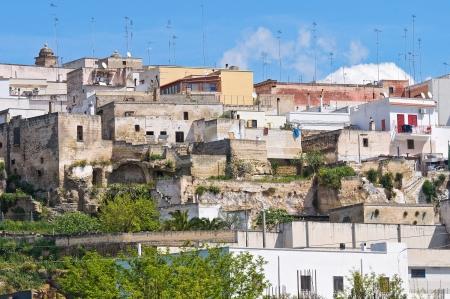 mottola: Panoramic view of Mottola  Puglia  Italy