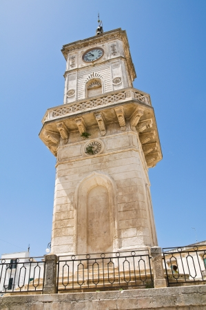 Clocktower. Ceglie Messapica. Puglia. Italy. photo