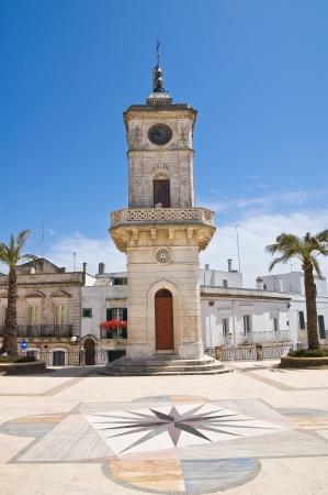 clocktower: Clocktower. Ceglie Messapica. Puglia. Italy.