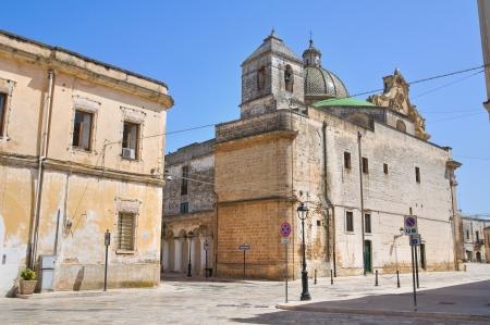 fontana: Alleyway. Francavilla Fontana. Puglia. Italy. Stock Photo