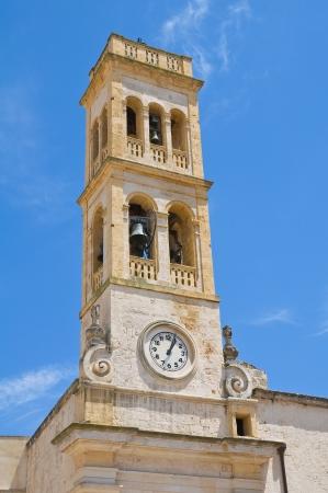 clocktower: Clocktower  Specchia  Puglia  Italy