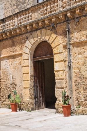bulwark: Castle of Felline. Puglia. Italy.  Editorial