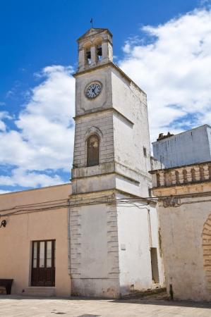 clocktower: Clocktower. Felline. Puglia. Italy. Editorial