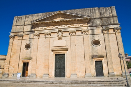 Mother church. Alessano. Puglia. Italy.  photo