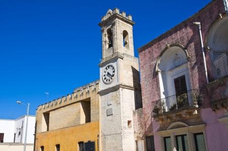 clocktower: Clocktower. Alessano. Puglia. Italy.