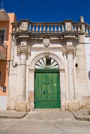 Romasi De Giorgi palace. Taurisano. Puglia. Italy. photo