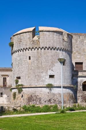 bulwark: Castle of Andrano. Puglia. Italy. Editorial