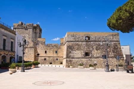 castro: Castle of Castro. Puglia. Italy.