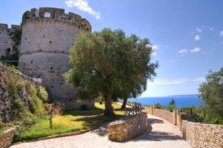 castro: City walls  Castro  Puglia  Italy  Editorial