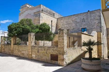 episcopal: Episcopal palace  Castro  Puglia  Italy