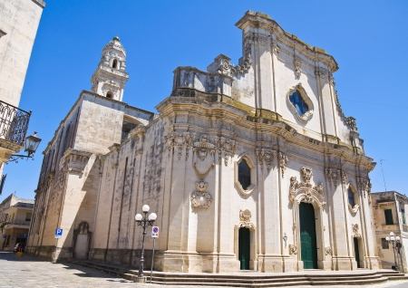 Duomo Cathedral of Maglie  Puglia  Italy  photo