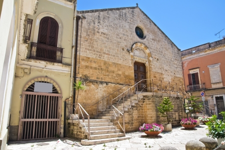 st lucia: Church of St  Lucia  Brindisi  Puglia  Italy
