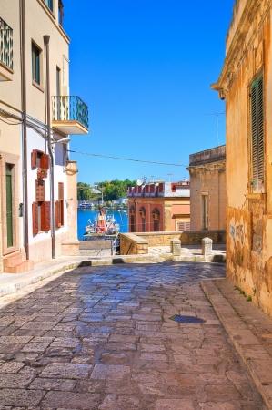Alleyway  Brindisi  Puglia  Italy