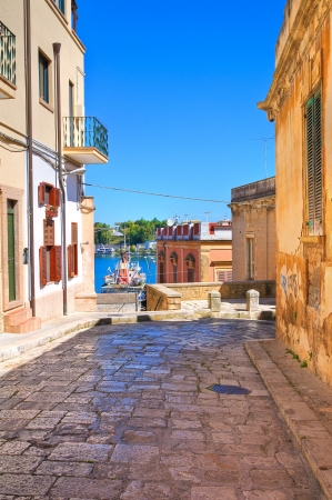 Alleyway  Brindisi  Puglia  Italy Imagens - 20313028