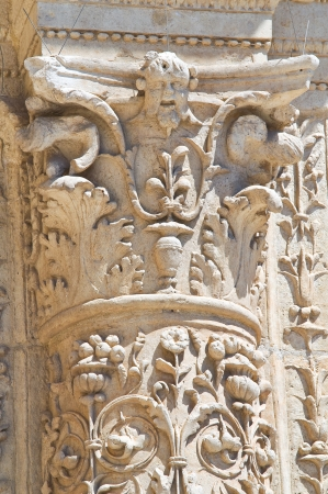 Angeli: Church of St  Maria degli Angeli  Lecce  Puglia  Italy  Stock Photo
