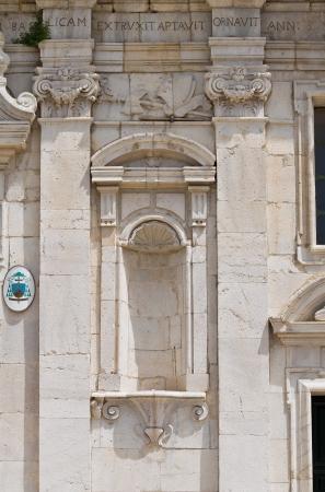 bas relief: Cathedral of St  Maria Assunta  Melfi  Basilicata  Italy