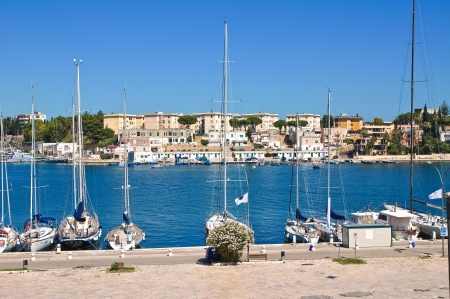 Panoramic view of Brindisi  Puglia  Italy