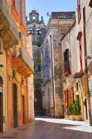 puglia: Alleyway. Castellaneta. Puglia. Italy.