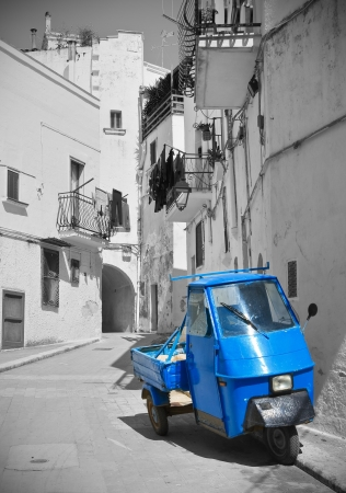 Alleyway. Castellaneta. Puglia. Italy. Stock Photo - 20522056